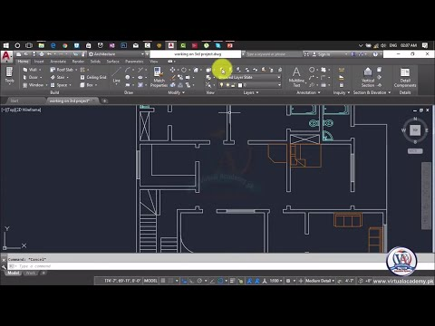 How to Add furniture in Autocad | AutoCAD Architecture 2017
