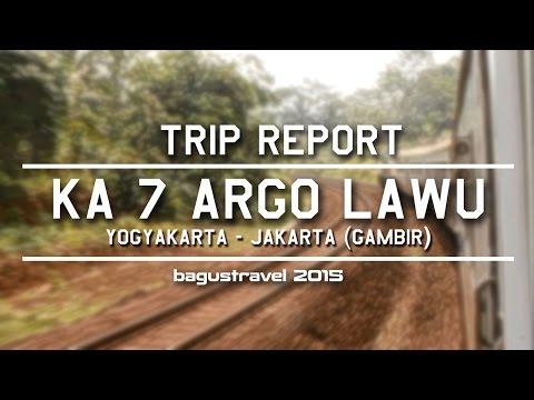 IN-TRAIN EXPERIENCE : KA 7 Argo Lawu Yogyakarta-Jakarta 27.07.2015