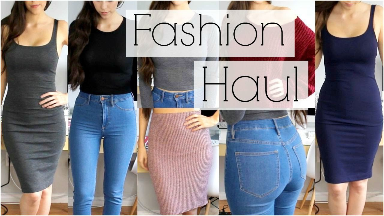 a5cc78269acd7 Fall Fashion Try On Haul || Forever 21, H&M, Zara, Charlotte Russe &  Lookbook Store - YouTube