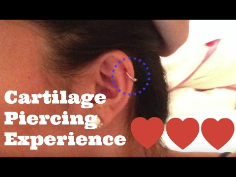 Cartilage Piercing Experience Aftercare And What Do If Infected