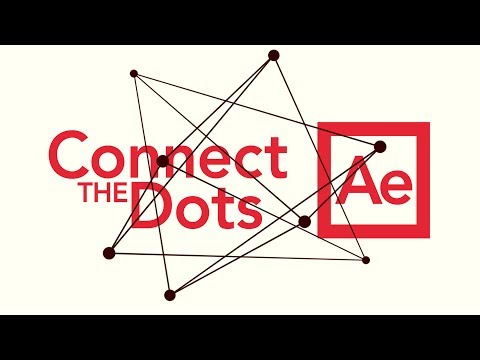 Connect Dots - Adobe After Effects tutorial