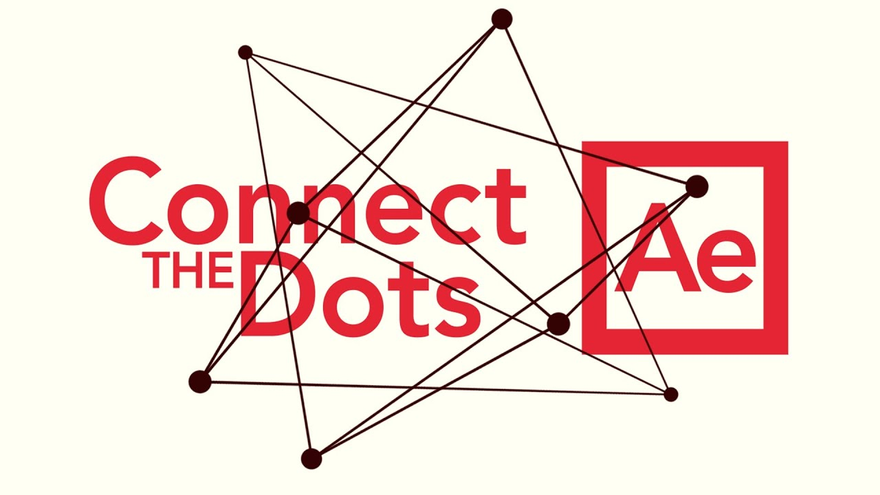 Line Art In After Effects : Connect dots adobe after effects tutorial youtube