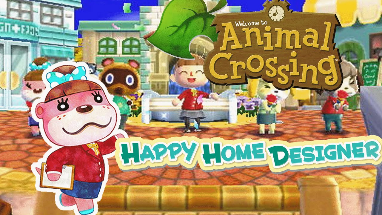 Animal Crossing : Happy Home Designer - 1er déco tout en cœur ! - - YouTube
