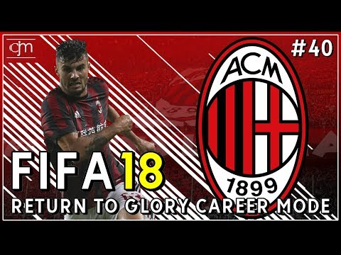FIFA 18 AC Milan Career Mode: Melbourne Victory & Al Hilal Jadi Ujian Tim Muda Milan #40