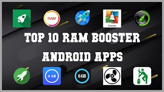 Top 10 RAM Booster Android App | Review screenshot 1