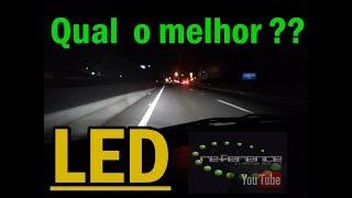 Qual a melhor lampada farol LED pra usar no carro??