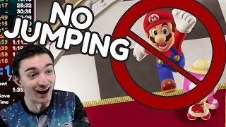 How I beat Super Mario Odyssey WITHOUT JUMPING