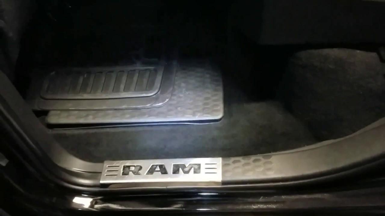 Ram 1500 Crew Cab W Fox Acoustics Box Install Overview Youtube Dodge Sub