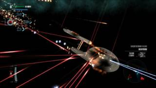 Star Trek Legacy: Ultimate Universe 2.2 - XI Mod Ships vs. TOS Fleet Battle