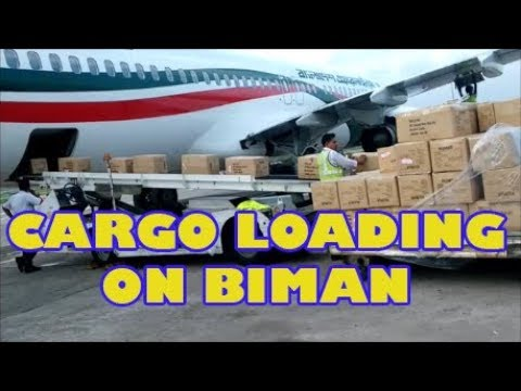Biman Cargo Loading activities 2016 | Boeing737-800 | Hazrat Shahjalal Int Airport |