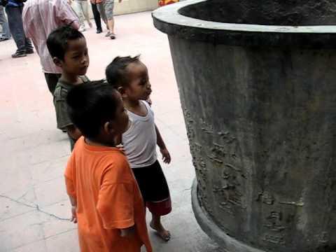 Jakarta boys spitting