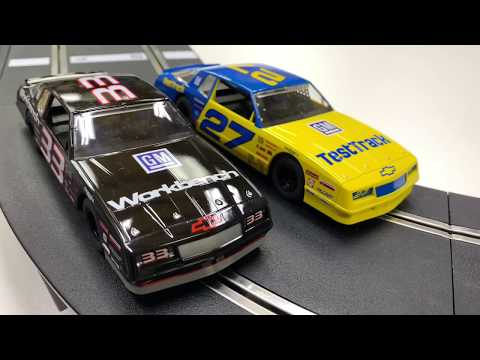 SCALEXTRIC STOCK CAR CHALLENGE SLOT CAR RACING SET!