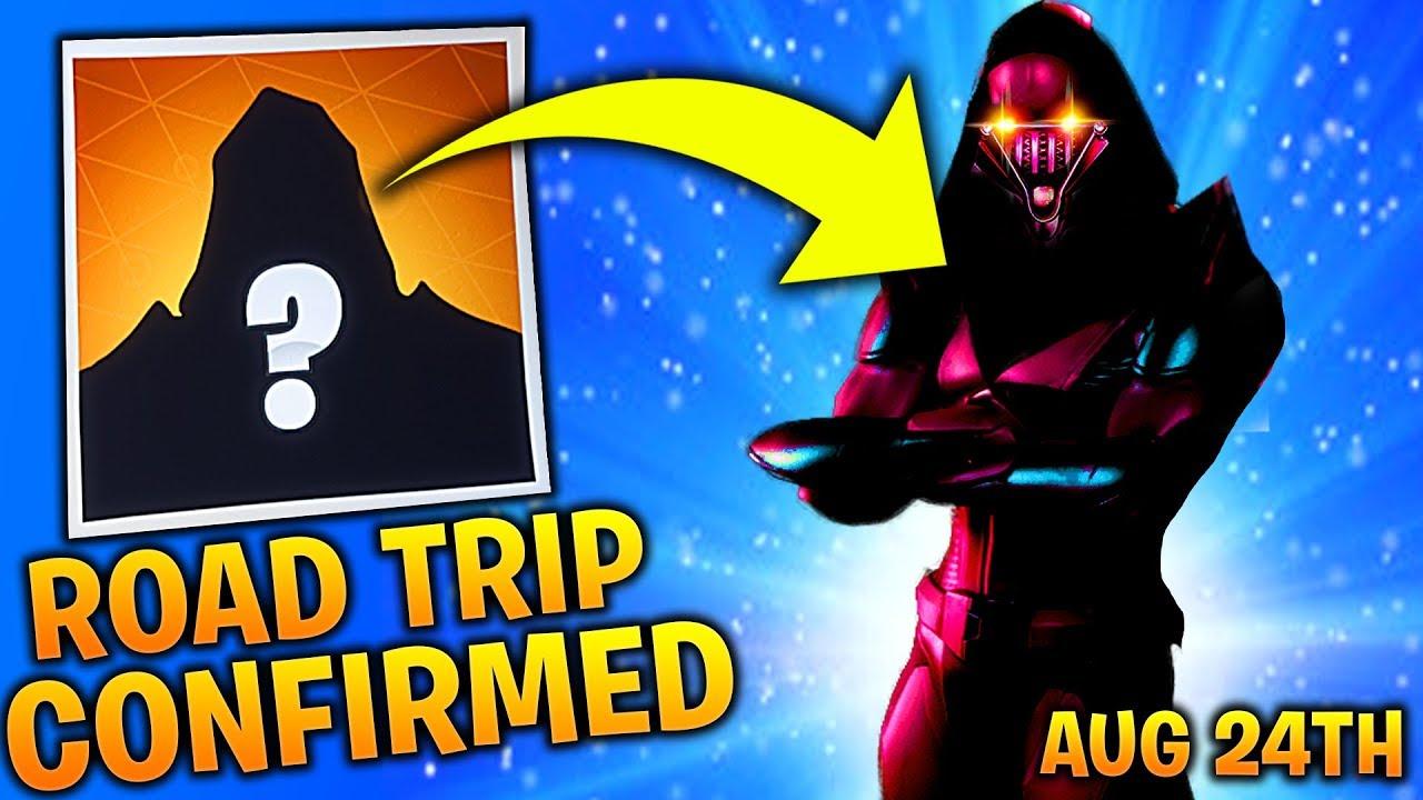 Road Trip Skin Coming In Fortnite Season 5 Secret Skin Revealed