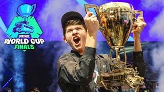 Fortnite worldcup solo champion interviews and news castings. Bugha!!!!