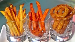 French Fries/Sweet Potato Fries & Onion Rings! Thumbnail