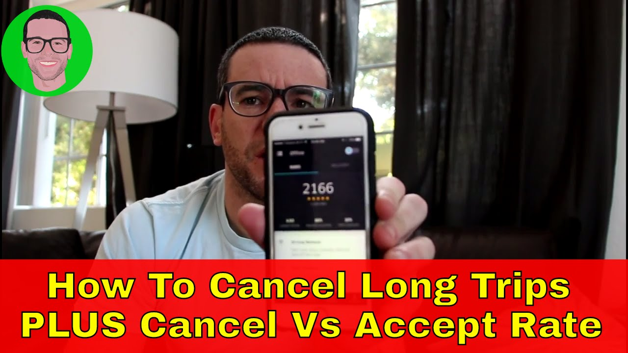 How To Cancel Uber >> How To Cancel Long Uber Trips Plus Acceptance Vs Cancellation Rate
