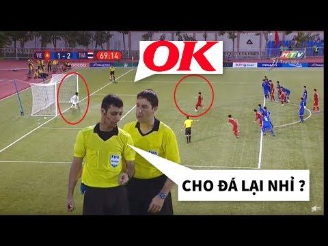 Vì Sao Trọng Tài Cho U22 Việt Nam được đá Lại Quả Penalty Và Chiếc Thẻ Vàng Cho Trợ Lý HLV Thầy Park
