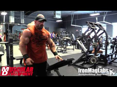 Branch Warren Arm Workout | 2 Weeks Out | Arnold Classic 2015