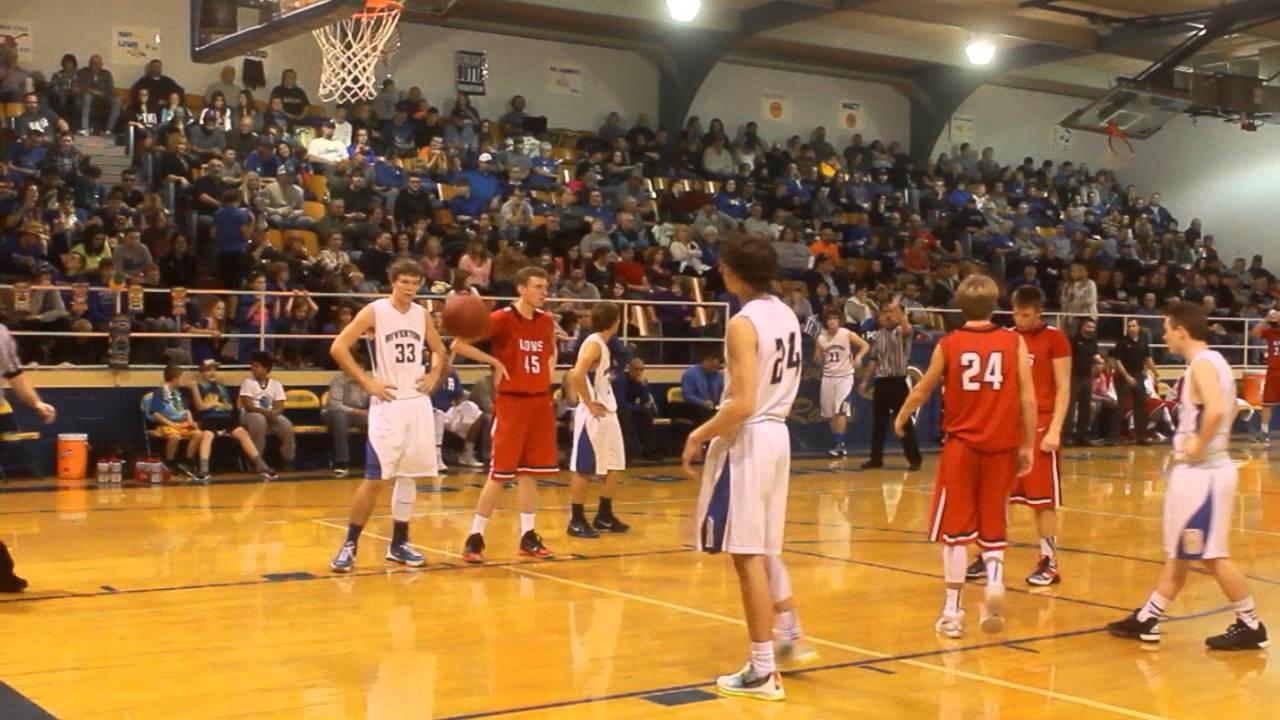 High School Basketball Games Riverton Rams VS Baxte...