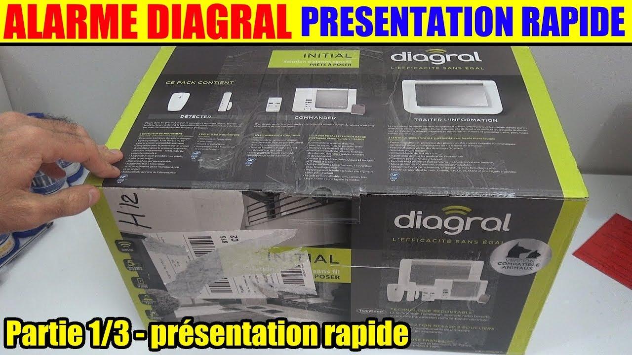 alarme maison diagral a2p gsm sans fil partie 1. Black Bedroom Furniture Sets. Home Design Ideas