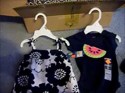 4611ef24eeee Baby Girls Clothes Haul  1(carter s