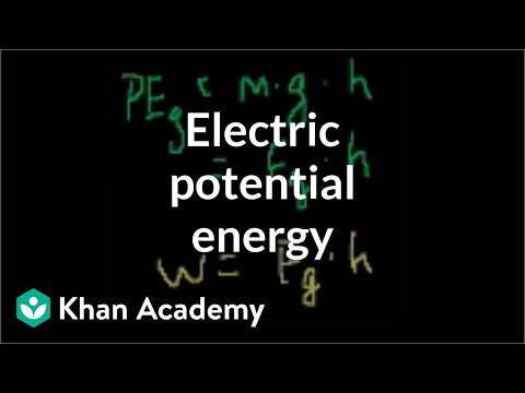 Electric potential energy | Electrostatics | Electrical engi