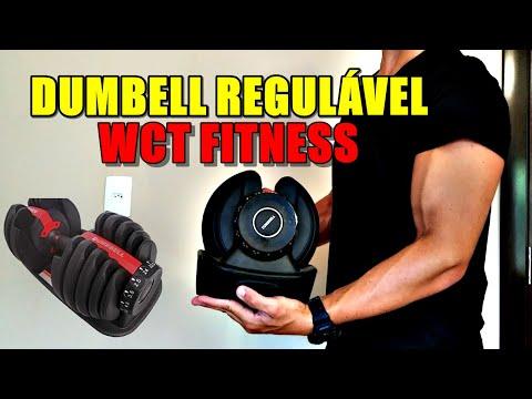 Dumbell Halter Regulável - WCT FITNESS