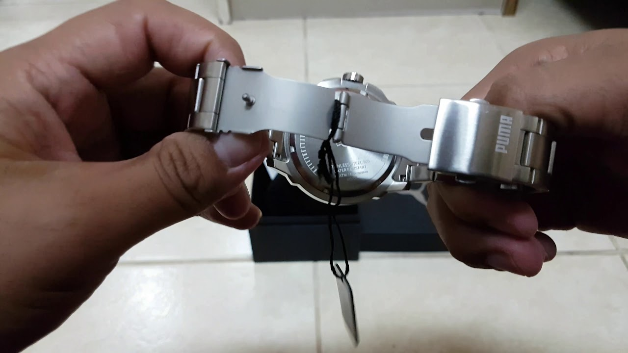 reloj puma stainless steel 805