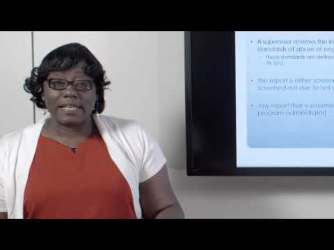 Child Protective Services Training Video