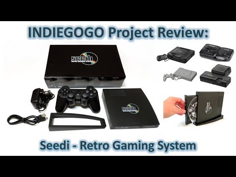 Indiegogo review/overview: Seedi - Retro Gaming System