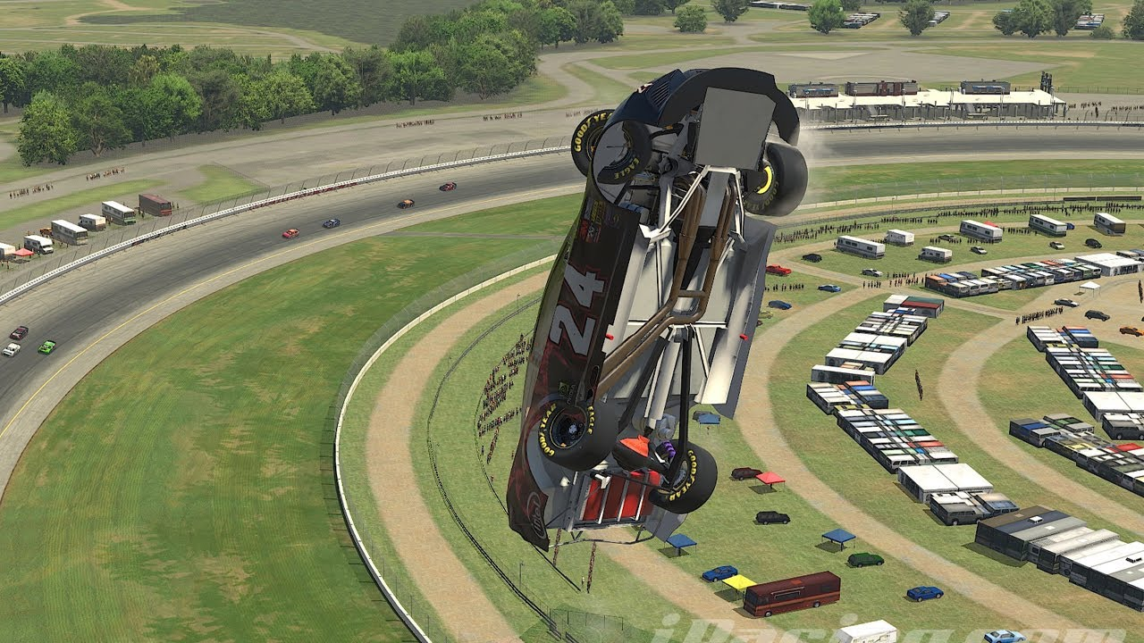 We have lift-off! iRacing what is going on here?