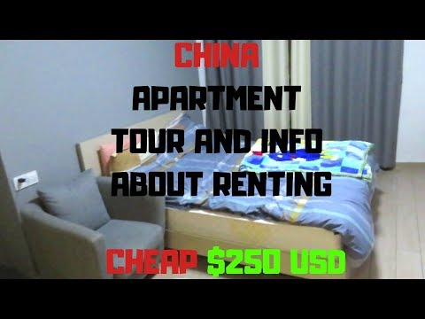 Chinese Apartment Tour Guangzhou Cheap Only $250usd And Information On Renting In China
