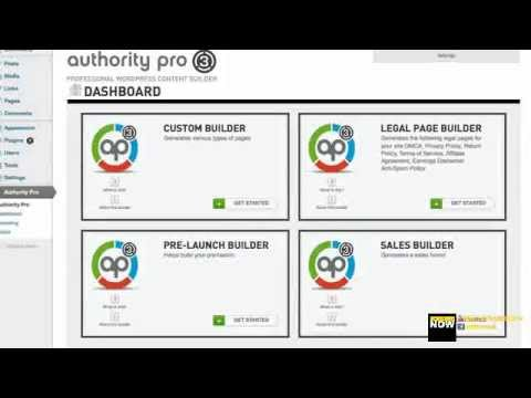 Authority Pro 3.0 - In Marketer View - Why You Need This For Sale Page?