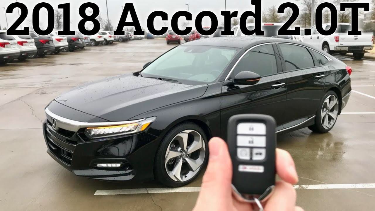 This Is The Accord Turbo You Want Honda Accord Touring 2 0T 2018