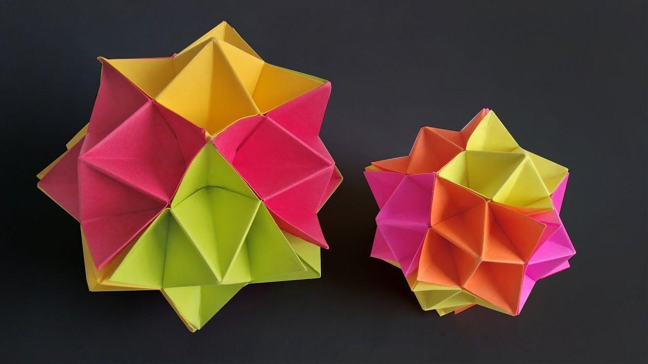 Modular origami – Polypompholyx   720x1280