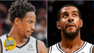 The Spurs stink with DeMar DeRozan and LaMarcus Aldridge on the court - Zach Lowe | The Jump