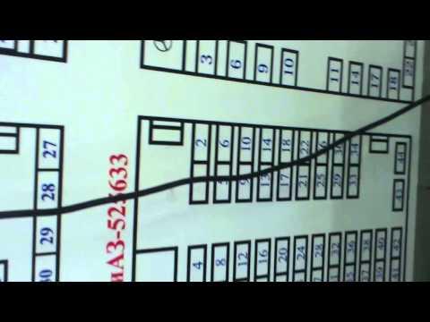 Как располагаются номера мест в автобусе