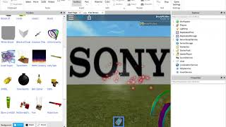 Sony/Columbia Pictures (Roblox Edition)