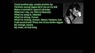 Download Wiz Khalifa ft 2 Chainz - It's Nothing (Lyrics On Screen) 2012 MP3 song and Music Video