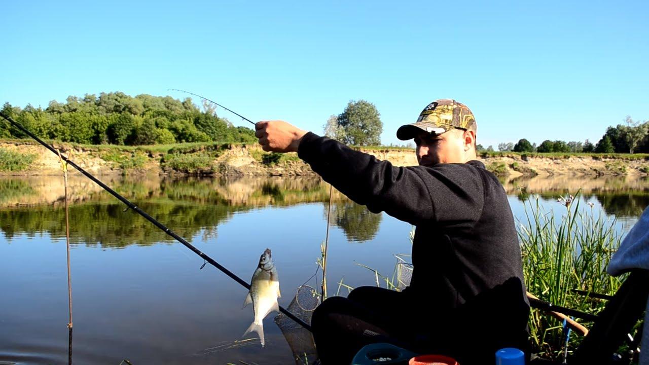 рыбная ловля фидером на реке