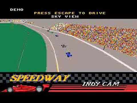 Indianapolis 500 The Simulation by Papyrus - [MS-DOS]