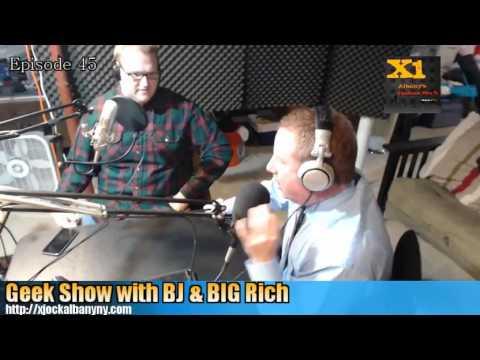 Geek Show Radio: Episode 45 - Geekoff With Sinkoff