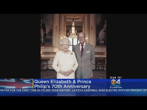 Queen Elizabeth And Prince Philip Celebrate 70th Wedding Anniversary