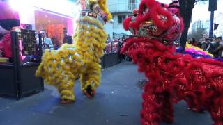 "Paris for ""Year of the monkey"" Chinese Lunar New Year 2016 - February 7, 2016 - HD"