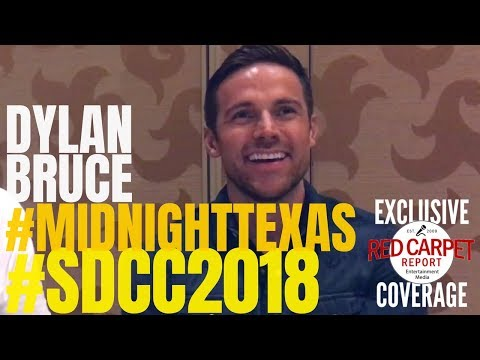 SDCC Midnight, Texas Roundtable s with Dylan Bruce MidnightTexas