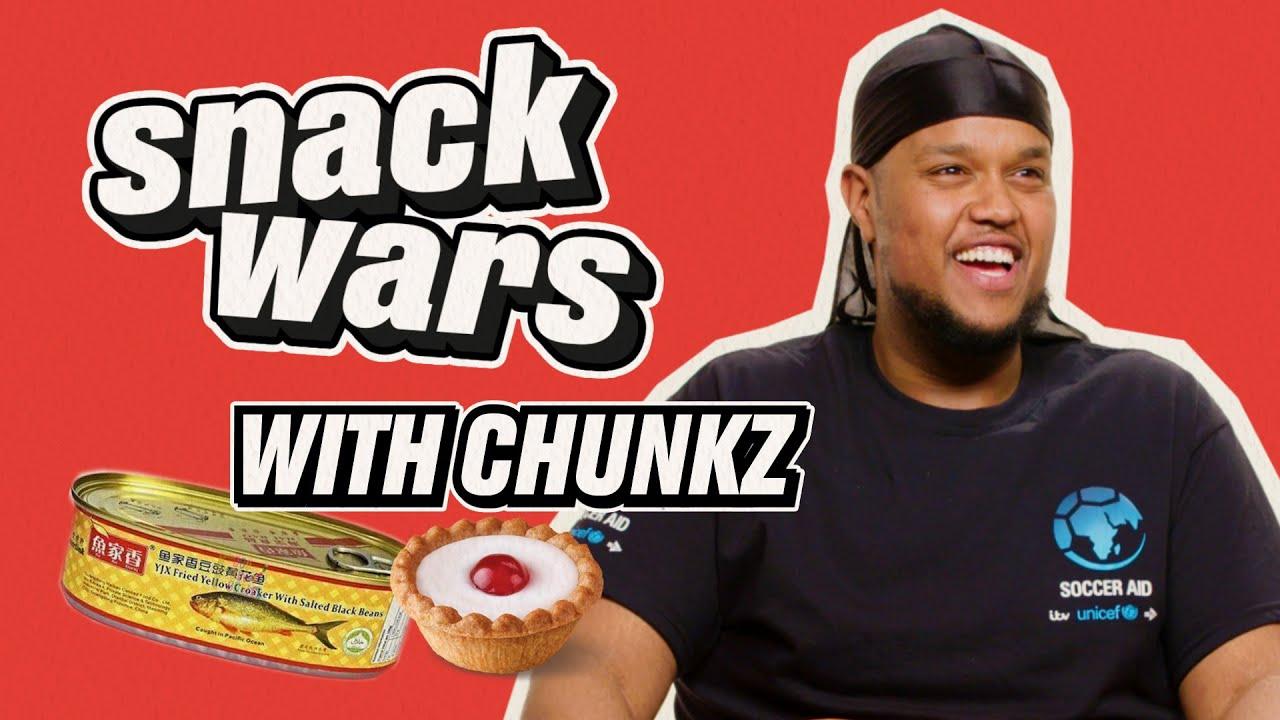 Chunkz Tries Weird Snacks From Around The World | Snack Wars | @LADbible TV