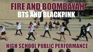 HKDC BTS FIRE BLACKPINK BOOMBAYAH Public Dance Performance