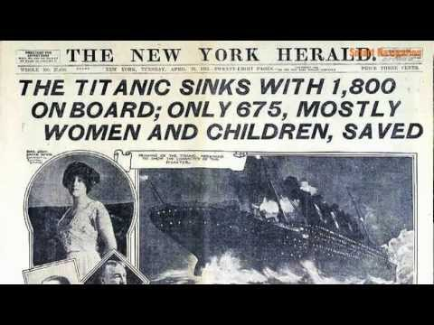 The route of Titanic\'s maiden voyage - YouTube