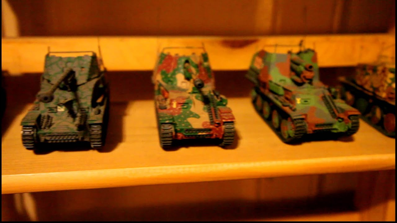 Model Tank Collection Youtube