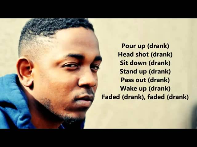 Kendrick Lamar Swimming Pools Lyrics On Screen Hd Chords Chordify
